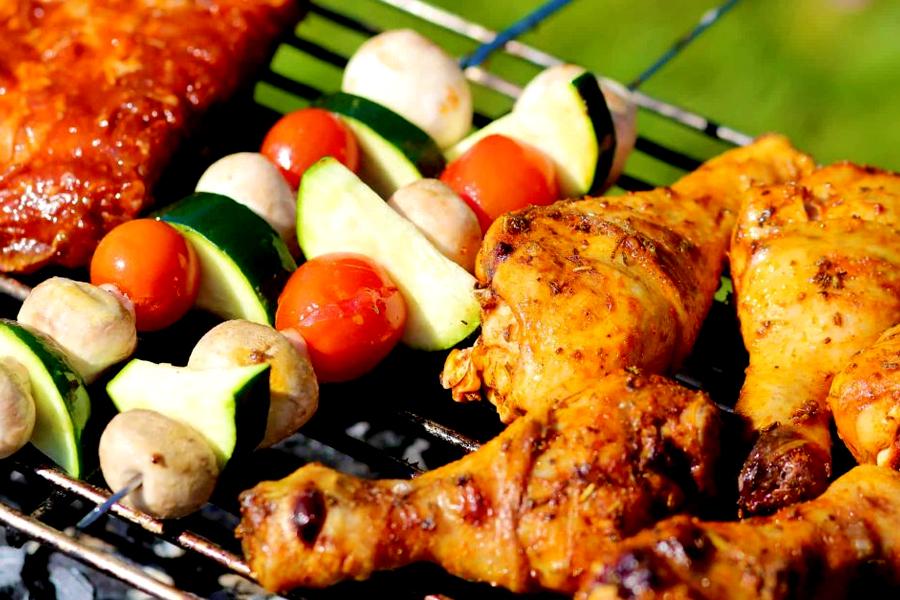 Australisches Essen - BBQ