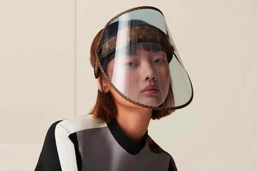 Ist Louis Vuittons $ 1.300 Face Shield die Zukunft der Mode?
