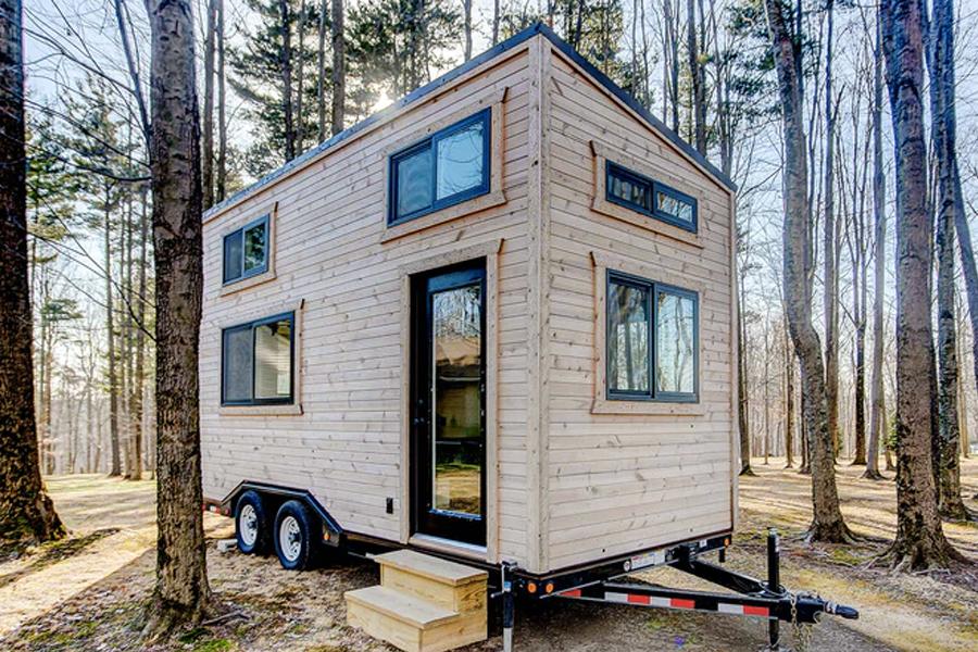 Gewinnen Sie ein individuelles kleines Haus im Wert von über 100.000 US-Dollar