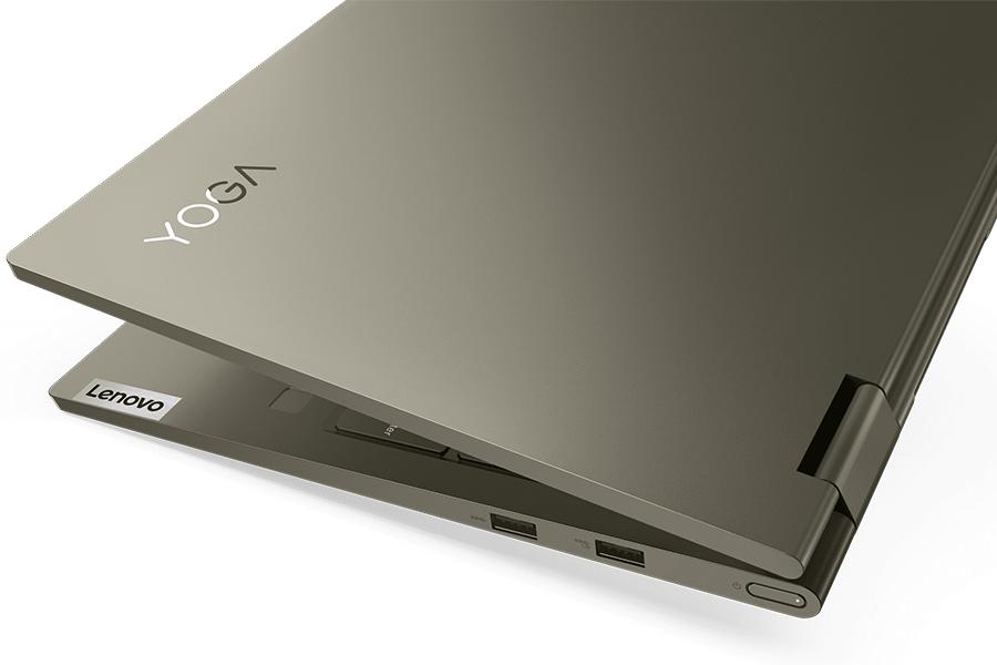 Fünf neue Lenovo Yoga Laptops Edge