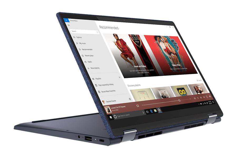 Fünf neue Lenovo Yoga Laptops flex