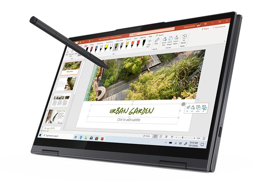 Lenovo wird mit fünf neuen Yoga-Laptops flexibel