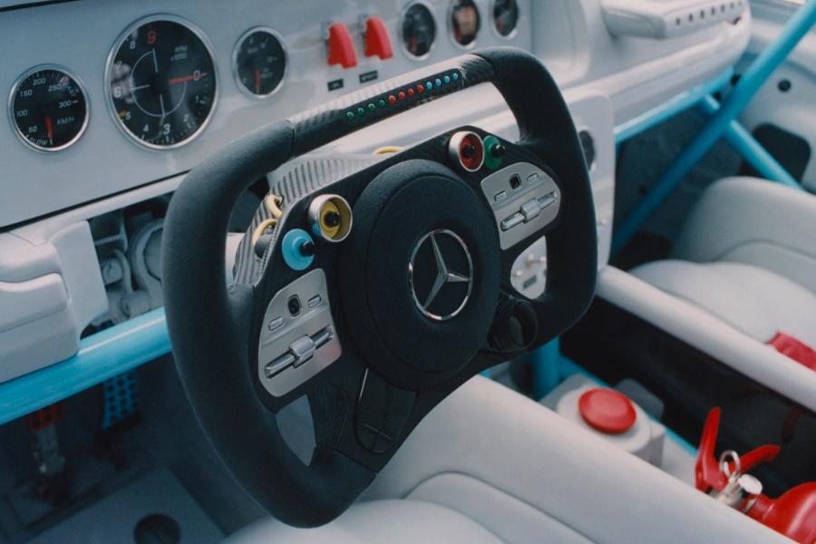 einzigartiger Mercedes Benz Custom Job