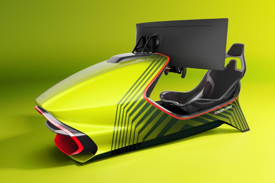 Aston Martin Home Racing Simulator