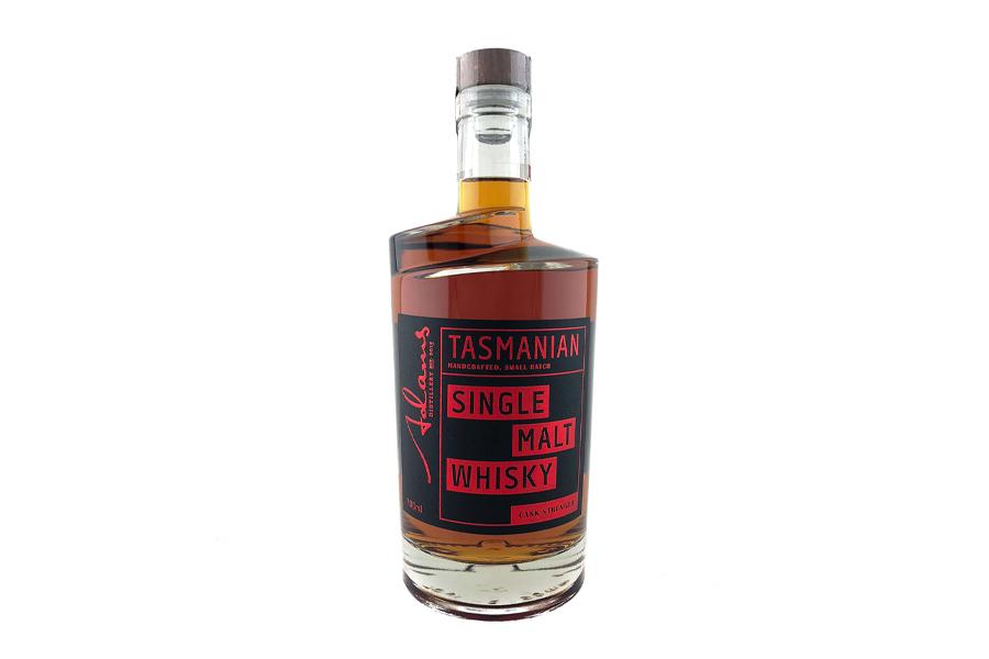 Beste Whiskys 2020 - Adams Distillery Tasmanian Single Malt Whisky Fassstärke