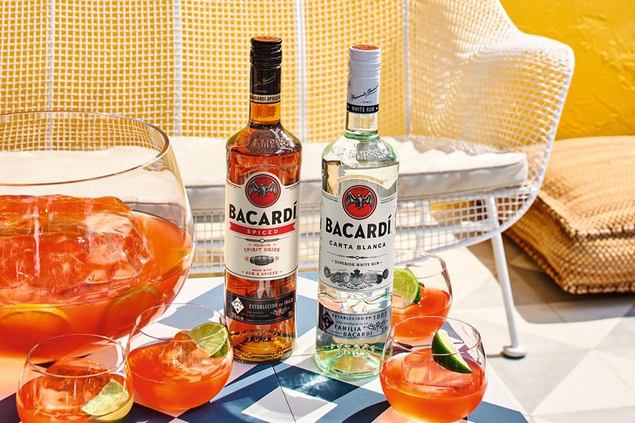 Bacardi Spiced startet in Australien auf dem Tisch