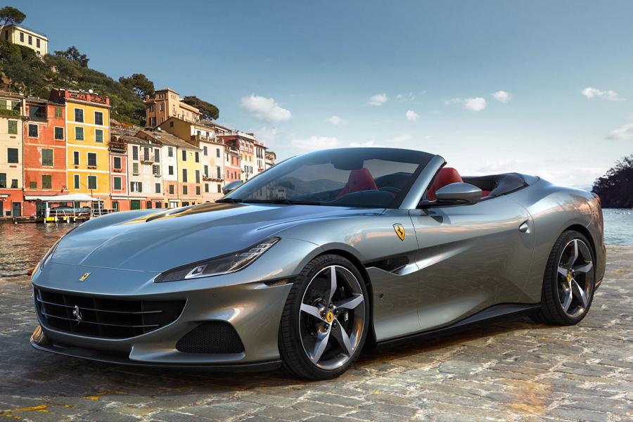 Ferrari hebt den Deckel seines 612 PS starken Portofino M Cabrio