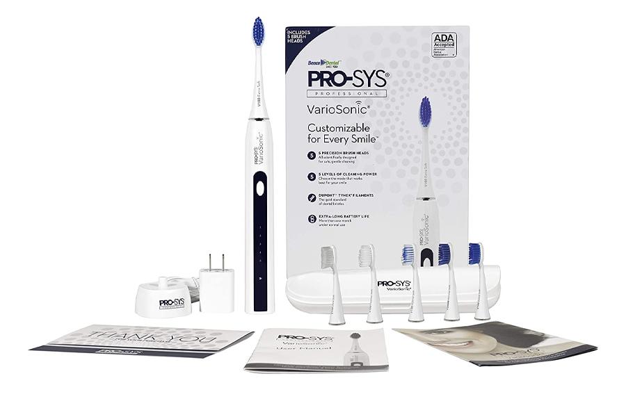 Beste elektrische Zahnbürste - PRO-SYS VarioSonic elektrische Zahnbürste