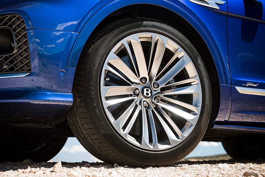 Bentley Bentayga Geschwindigkeitsrad