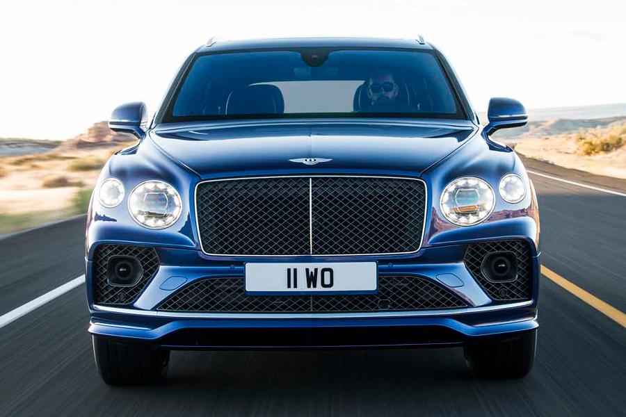 Bentley Bentayga Speed vorne