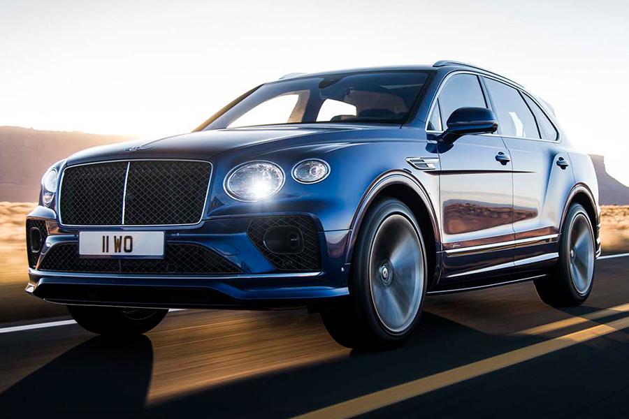 Bentley Bentayga Speed Seitenansicht