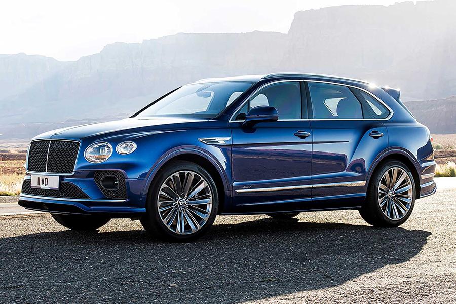 Der neue Bentley Bentayga Speed macht seinem Namen alle Ehre