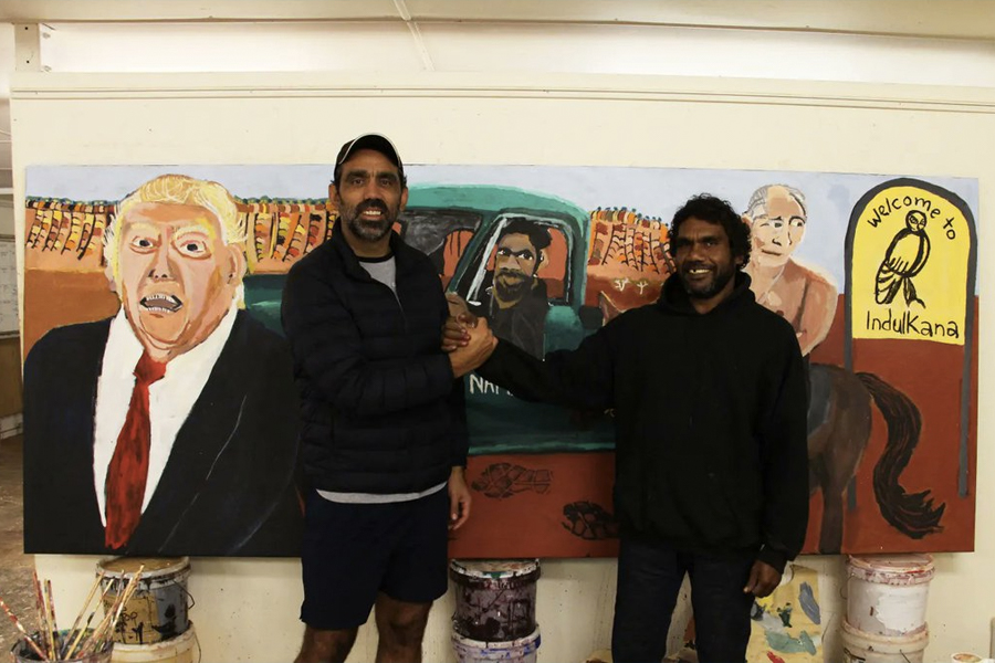 Vincent Namatjira gewinnt Archibald-Preis 3