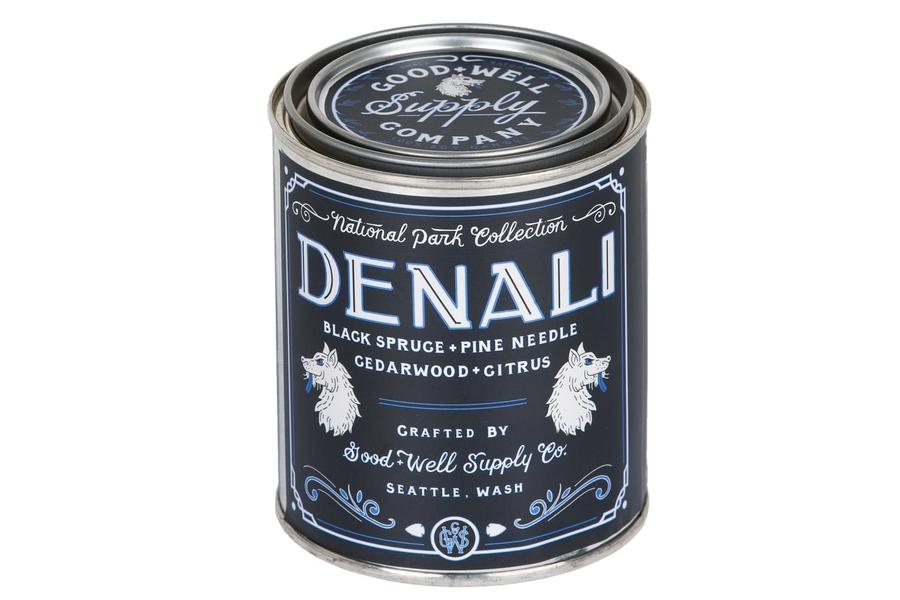 Good + Well Supply Co. Denali Nationalpark Kerze