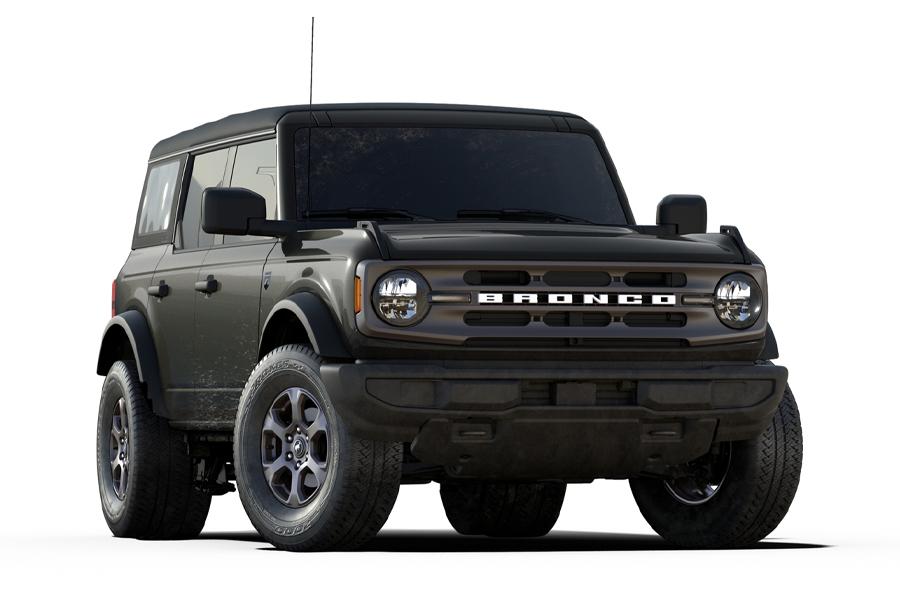 2021 Ford Bronco Mitternachtsausgabe