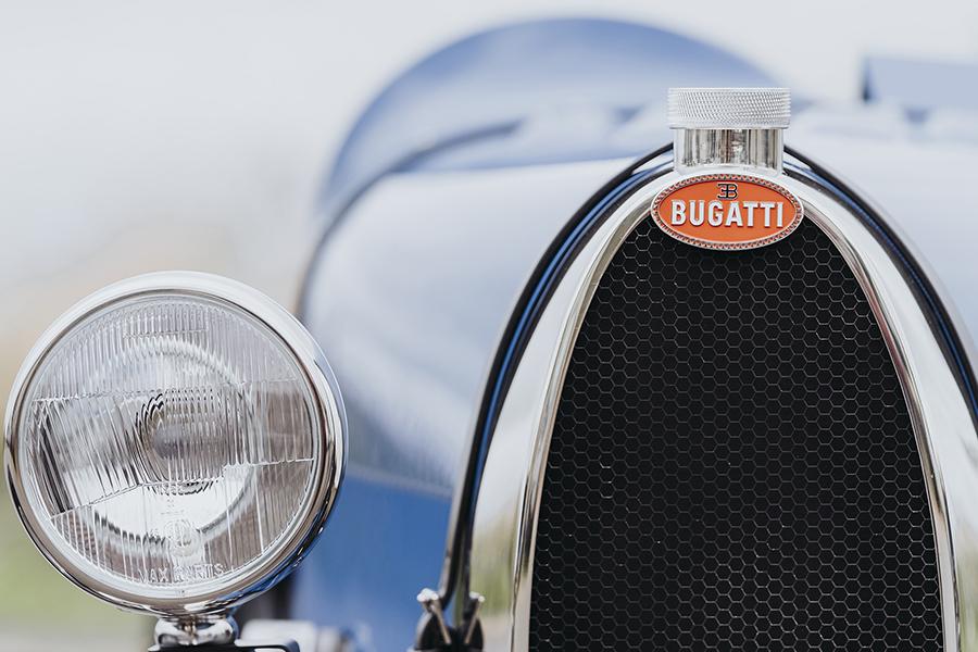 $ 48k Bugatti Toy Car Scheinwerfer