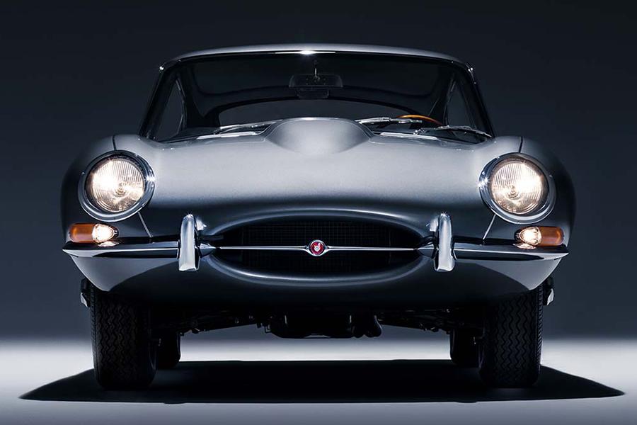 60 Jahre Jaguar E-Type Front