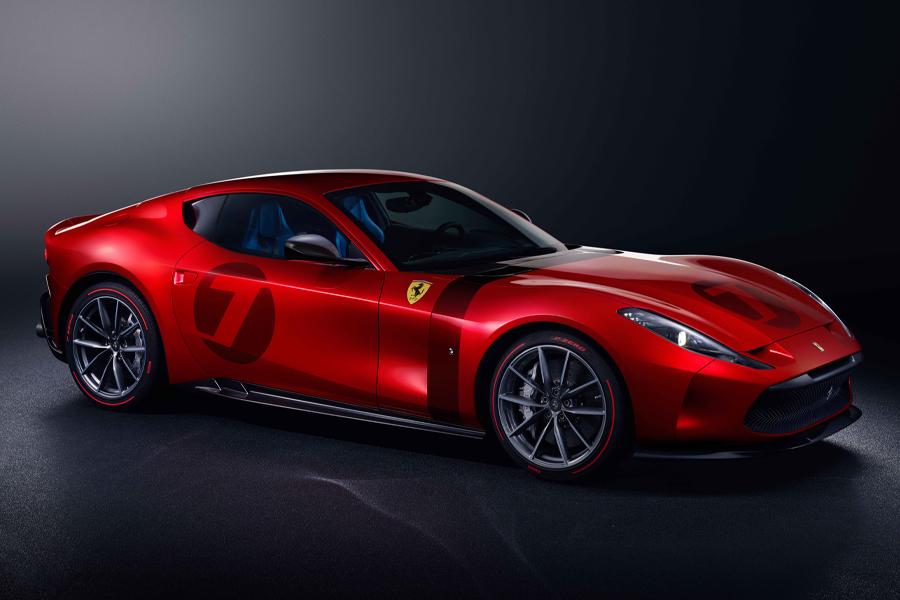 Dieser V12 Ferrari Omologata ist ein einmaliger 812 Superfast