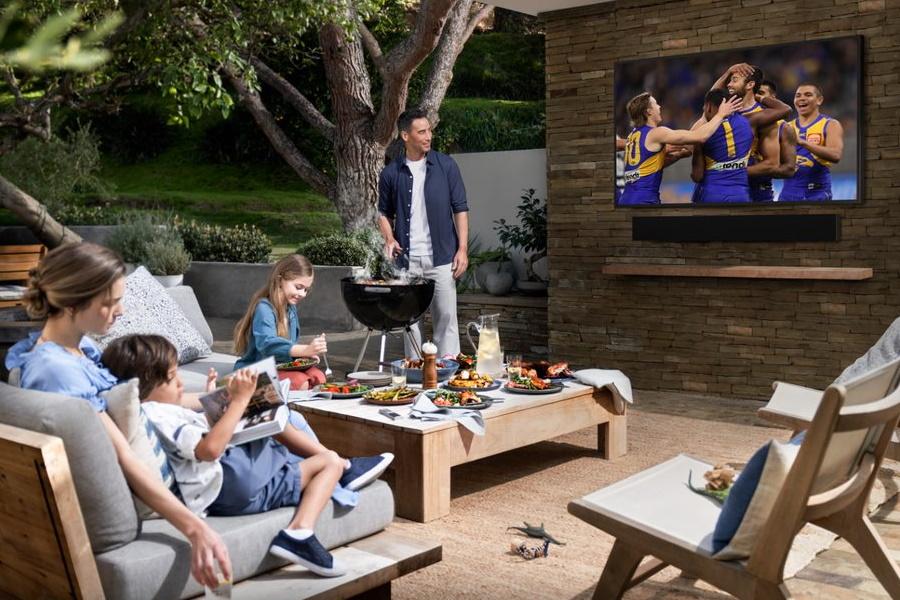 Samsung die Terrasse im Freien Fernseher