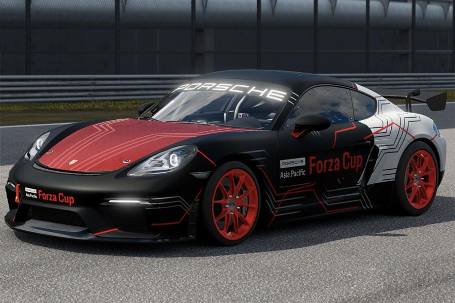 Porsche veranstaltet ein Forza E-Sports Turnier