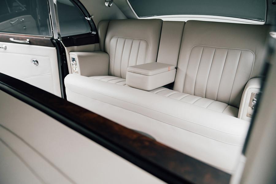 Rolls Royce Phantom V Concept Rücksitz