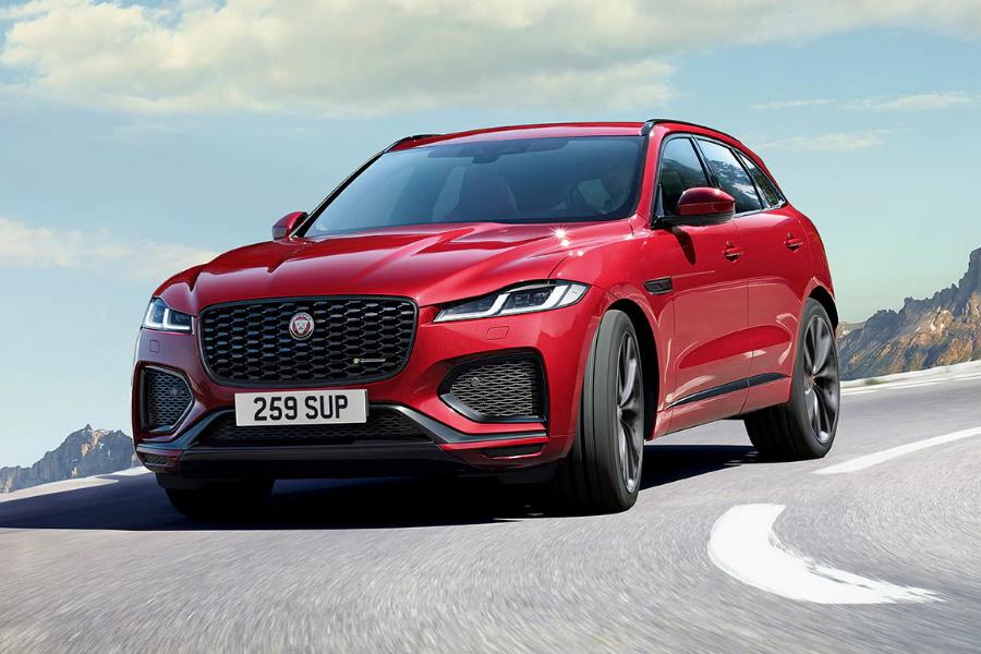 2021 Jaguar F-Pace dreht sich alles um Luxusleistung