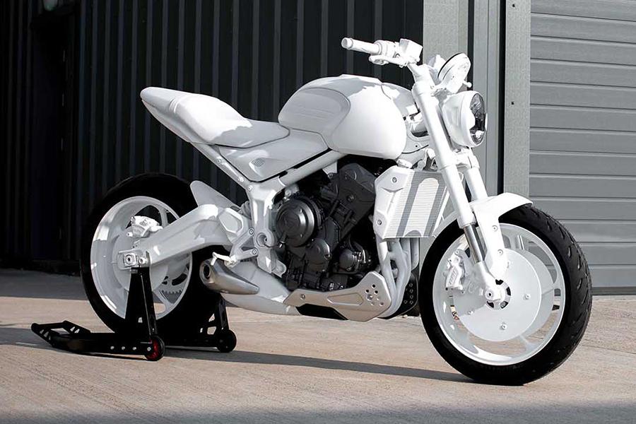 Triumph Motorcycles Trident Concept vorne