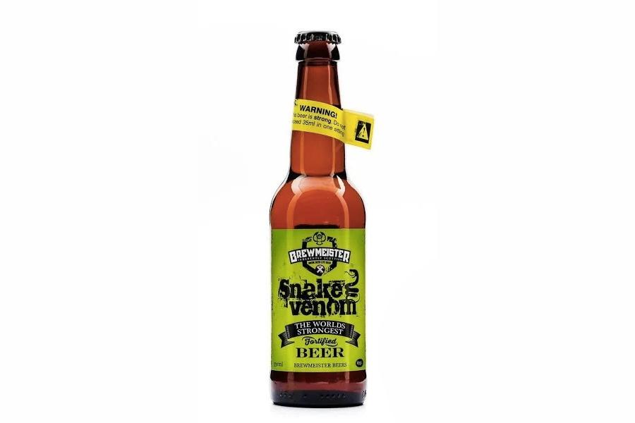 Stärkste Biere der Welt - Brewmeister Snake Venom