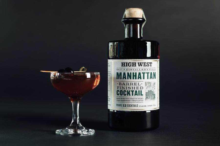 Die High West Distillery stellt neue Cocktails im Fass vor