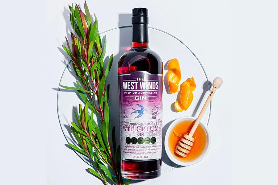 Der Westwind bläst süß und säuerlich im Wild Plum Gin