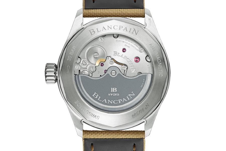 Blancpain Uhr Gehäuseboden