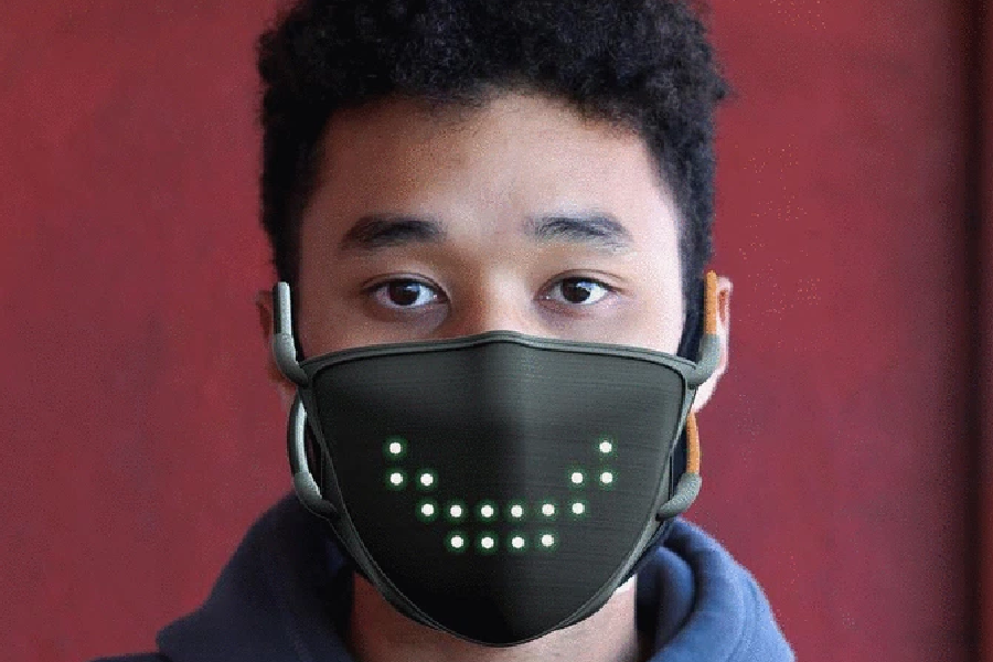 JabberMask: Die Maske, die für Sie lächelt