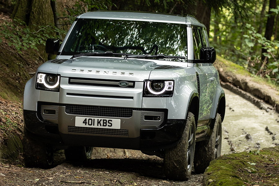 2021 Land Rover Defender P400e Hybridfront