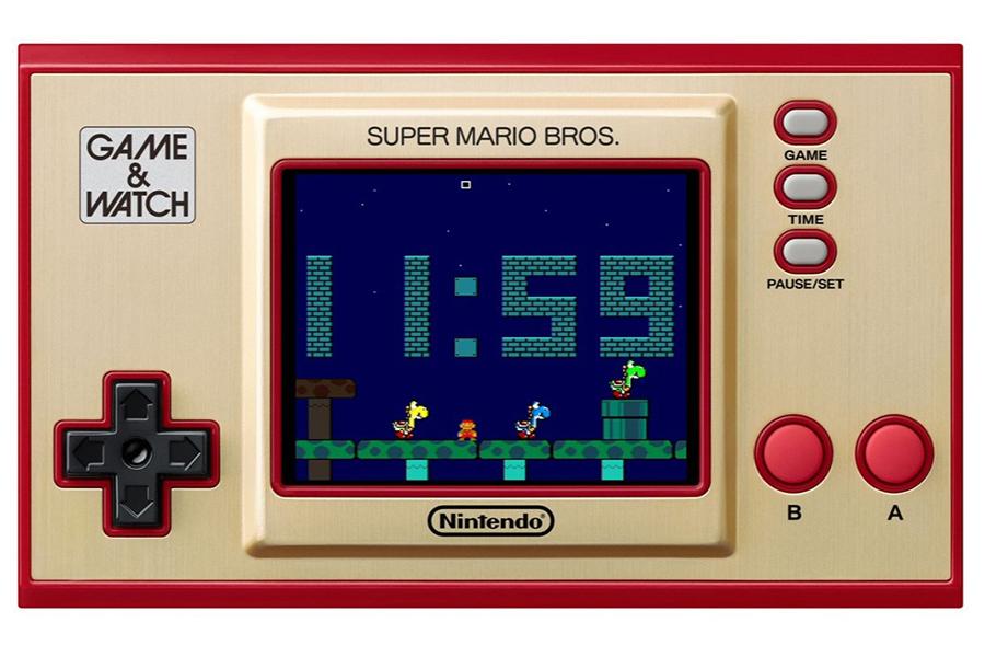 Spielen Sie Original Super Mario Bros im Spiel und schauen Sie sich den Handheld an