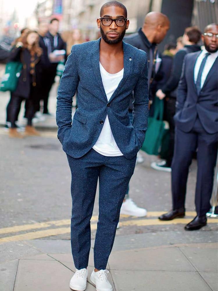 Männer stehen Street Wear Anzug
