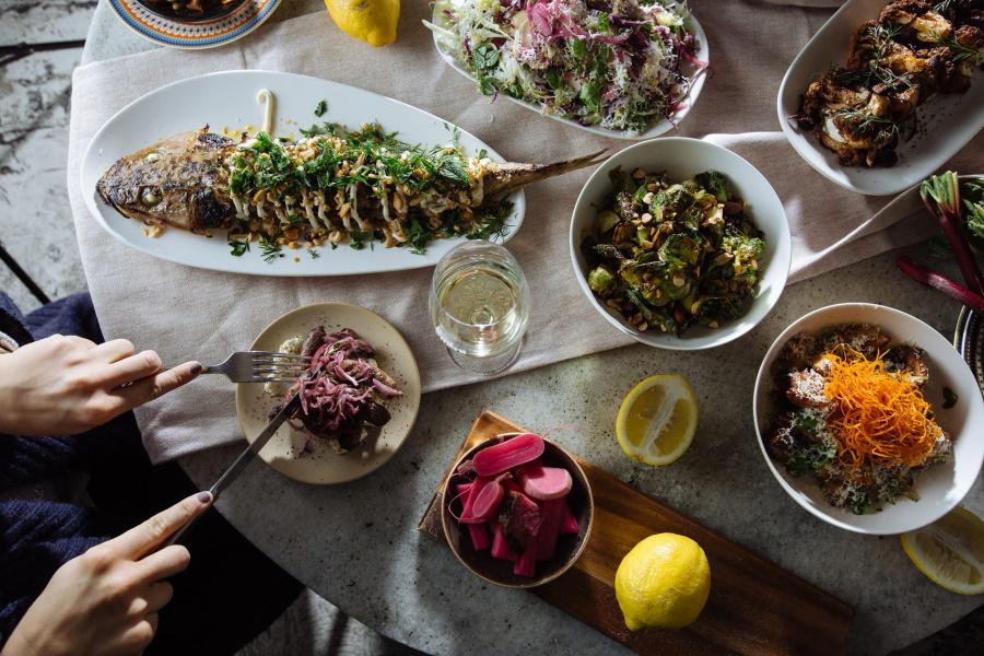 Fest des Verdienst-Restaurants in Melbourne