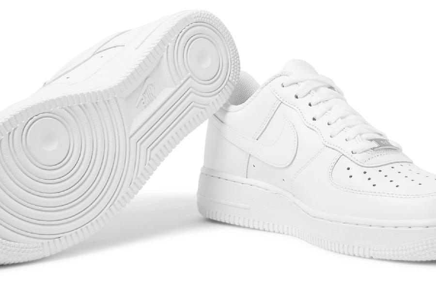 Weiß Nike Air Force 1
