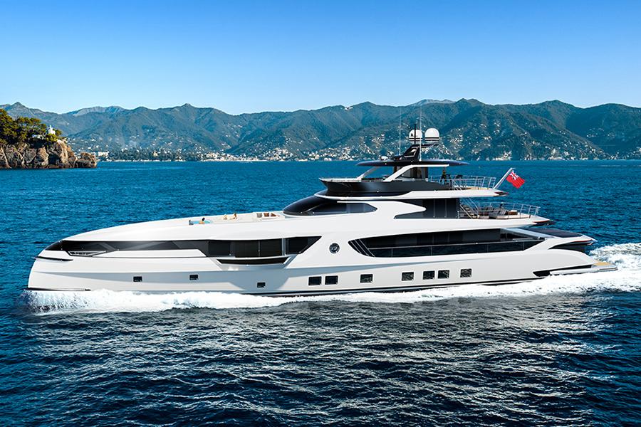 40 Millionen US-Dollar Dynamiq GTT 165 definiert das Superyacht-Design neu