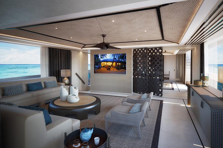 Dynamiq präsentiert die neu gestaltete GTT 165. Lounge