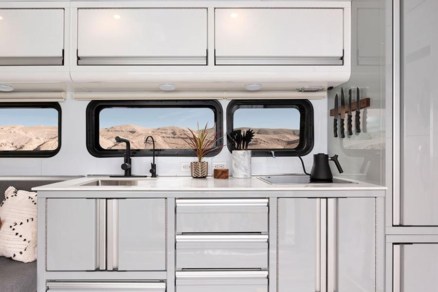 Wohnfahrzeug 2020 Küche