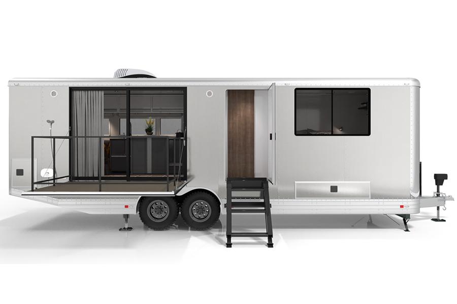 Living Vehicle 2020 ist Mobile Living in seiner luxuriösesten Form