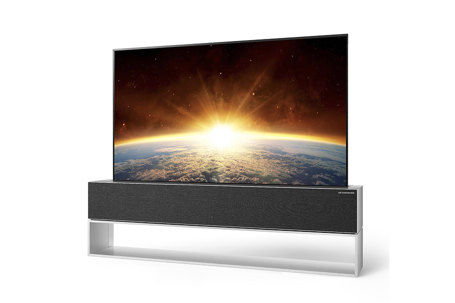 LG rollbarer Fernseher