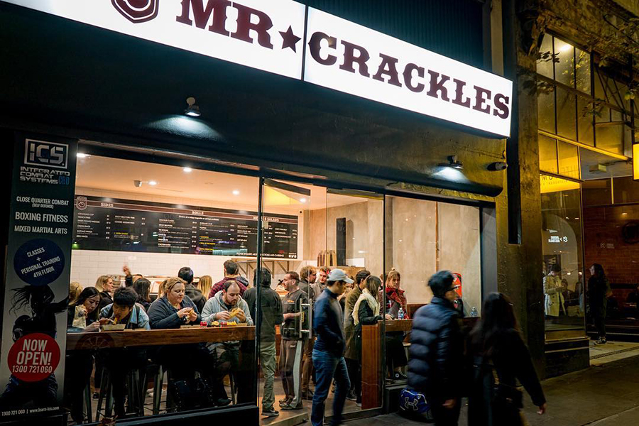 Mr Crackles Nachtessen Sydney