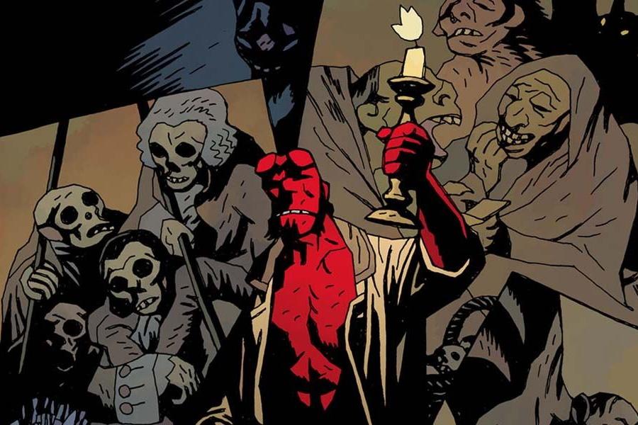 Hellboy-Comic
