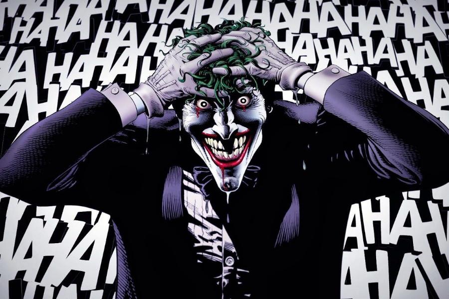 Batman tötet Witz Comic