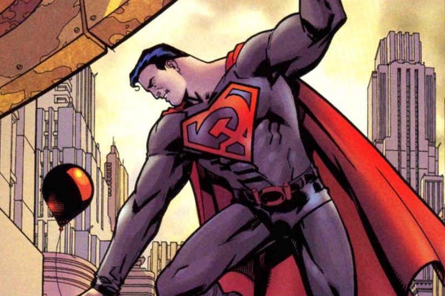 Superman Comic Kunst