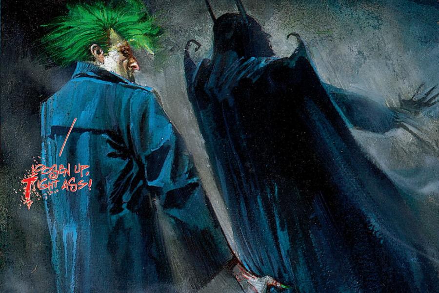 Arkham Asylum ist einer der besten Graphic Novels