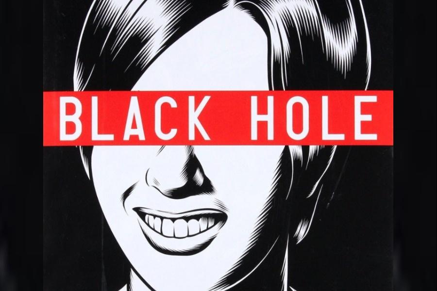Black Hole Comic Cover