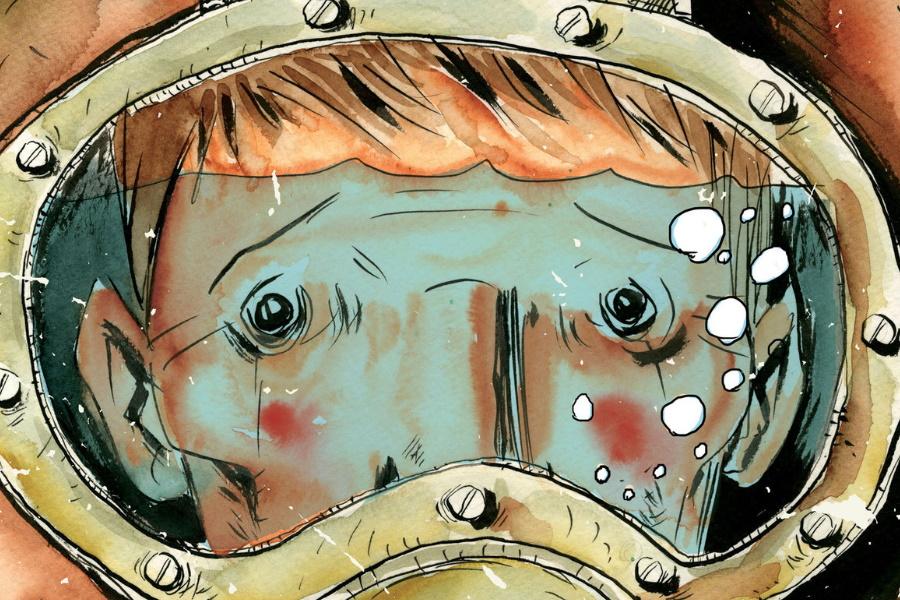 beste Graphic Novels Unterwasser Schweißer Abdeckung