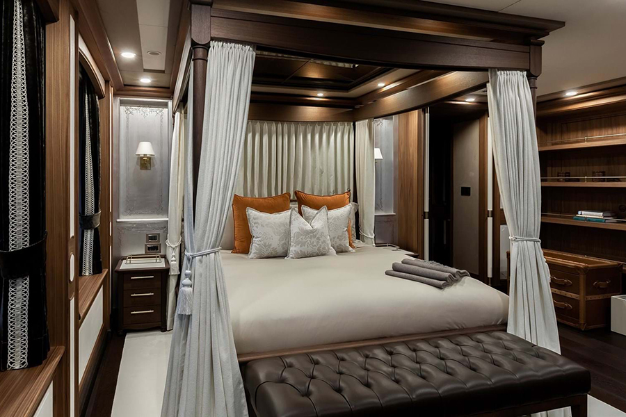 Burgess Yachts Ragner Schlafzimmer